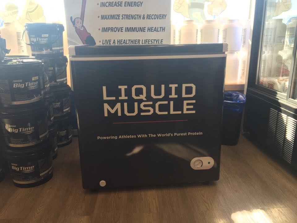 Liquid Muscle - Custom Freezer Wrap