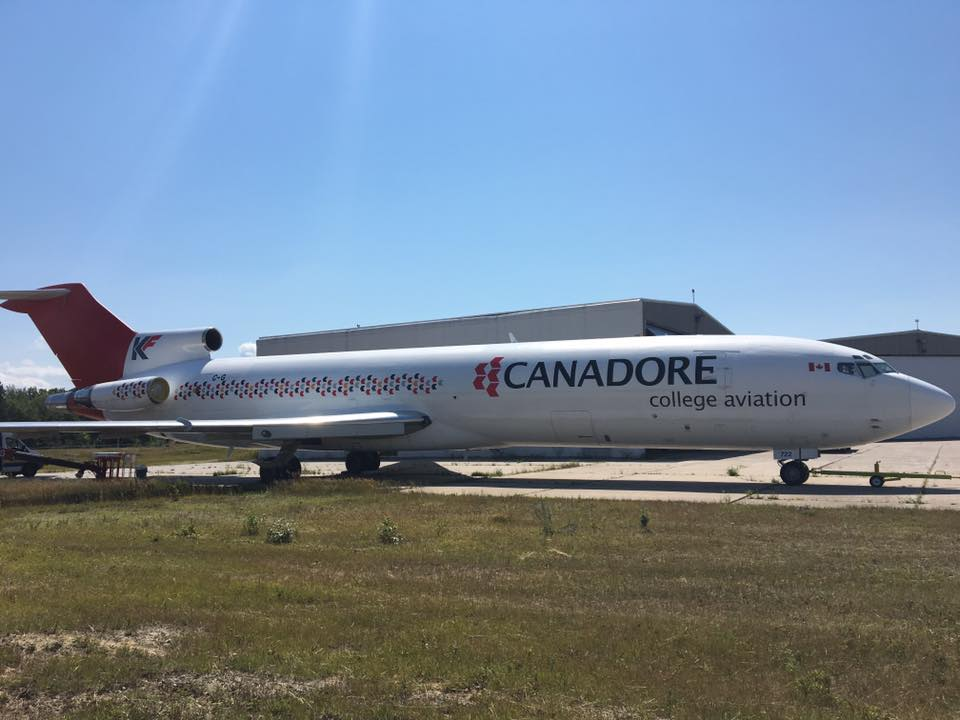 Boeing 727 Airplane Wrap - Canadore College