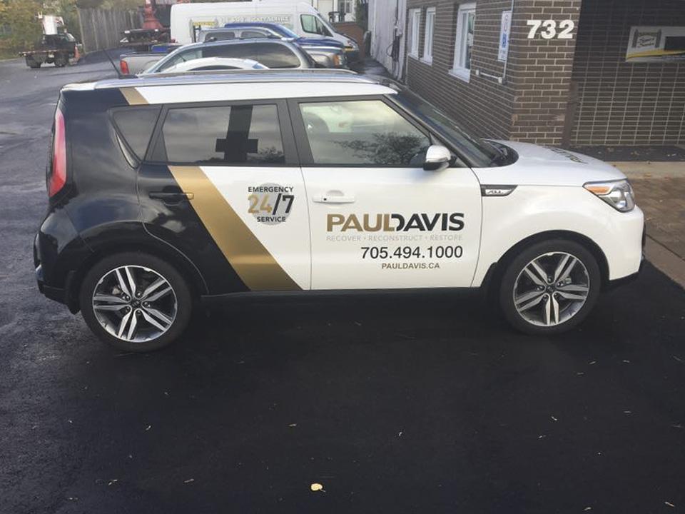 Paul Davis - Vehicle Wrap
